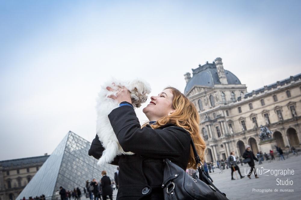 Chipie, bébé bichon © Le MuZographe
